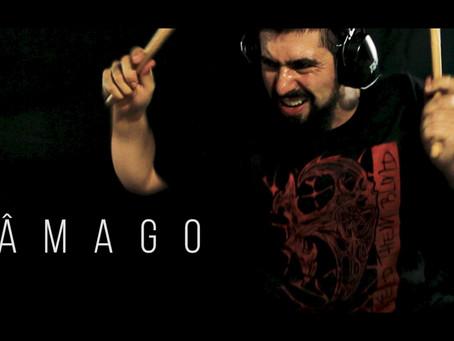 Baterista Thiago Caurio (Astafix e Keep Them Blind) acaba de lançar o single Âmago.