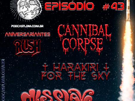 Podcast Lançamentos do Metal#43