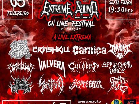 Extreme Sound Records Online Festival anuncia 2° edição e divulga lin-up