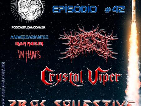 Podcast Lançamentos do Metal#42
