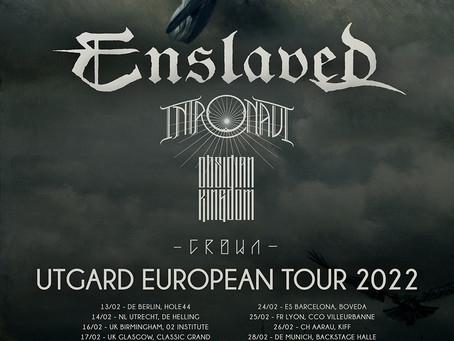 Enslaved lança videoclipe para versão ao vivo de 'Homebound'