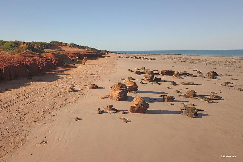 Beach Rocks, Broome, WA