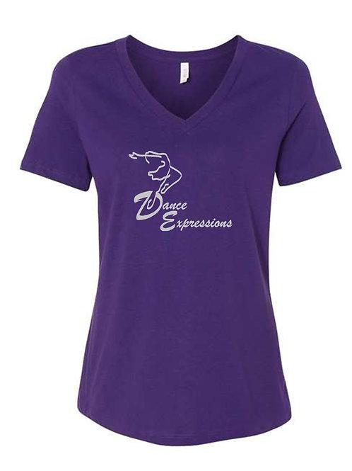 Adult Sized V Neck DE Shirt
