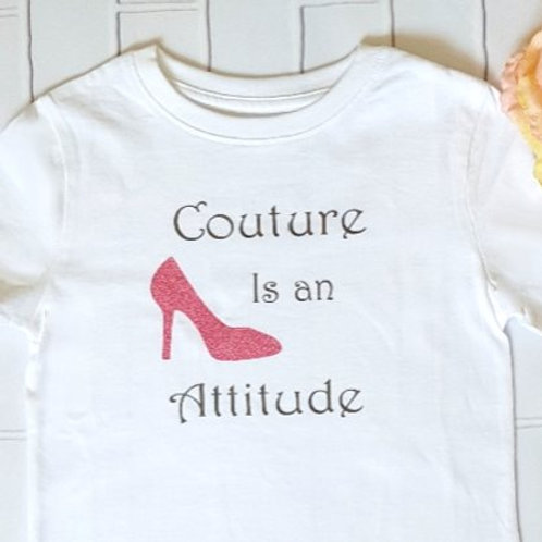 Couture is an attitude dress