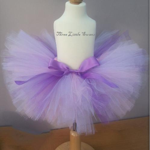 Purple splash tutu