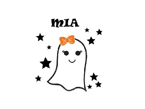 Personalised Ghost Halloween desgin