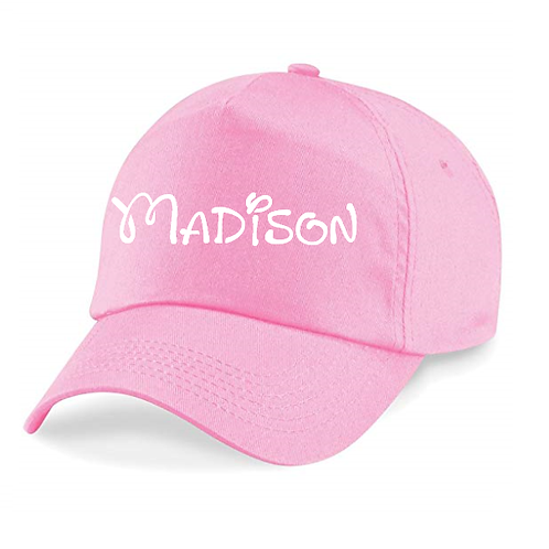 Disney inspired personalised hat