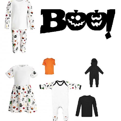 'Boo' pumpkin Halloween desgin
