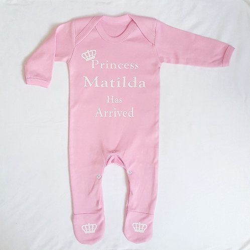 Personalised Princess Rompersuit