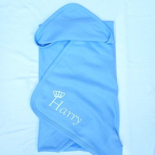 Prince/Princess Crown Name Blanket