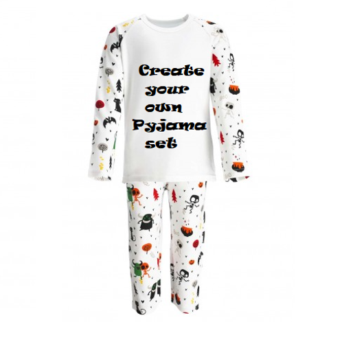Create Your Own Halloween Pyjamas