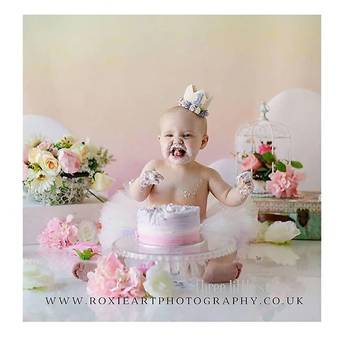 Ivory soft splash tutu