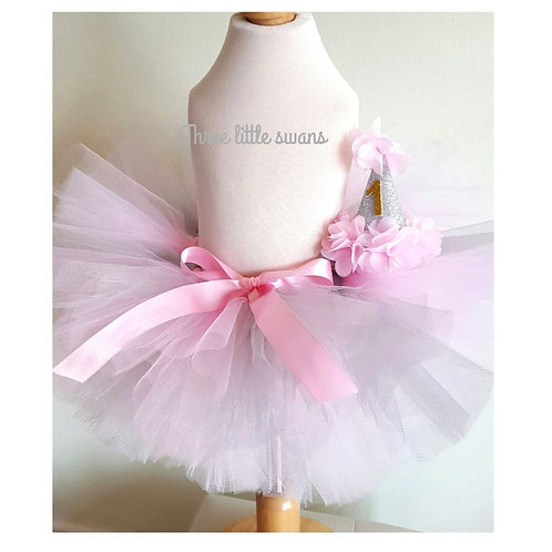 Tutu and party hat set