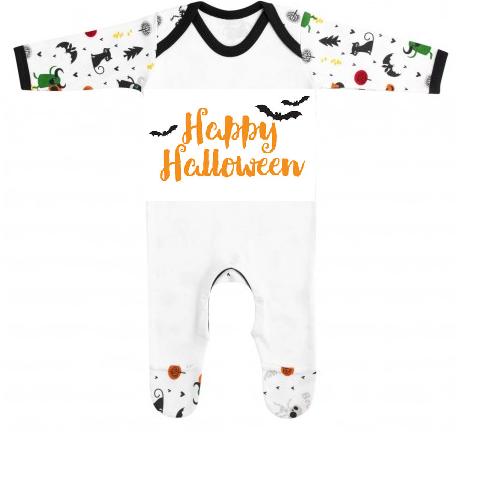 'Happy Halloween' bat desgin