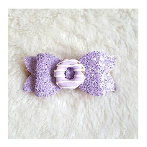 Glitter donut headband