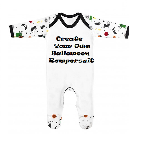 Create Your Own Halloween Rompersuit