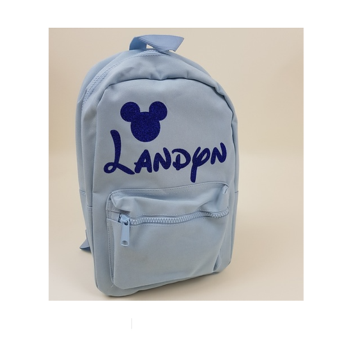 Create your own 'Disney' mini essential backpack (lots of design options)