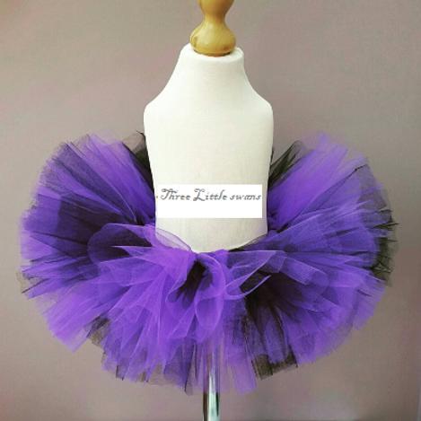 Halloween purple tutu