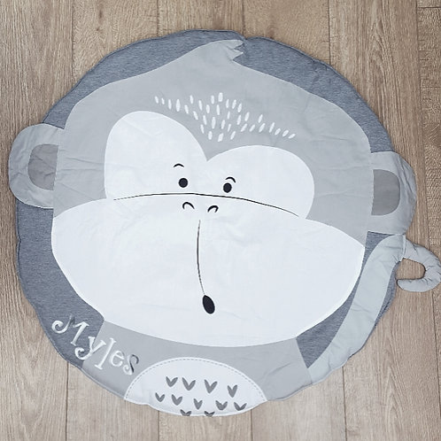 Monkey playmat (with personalised option)