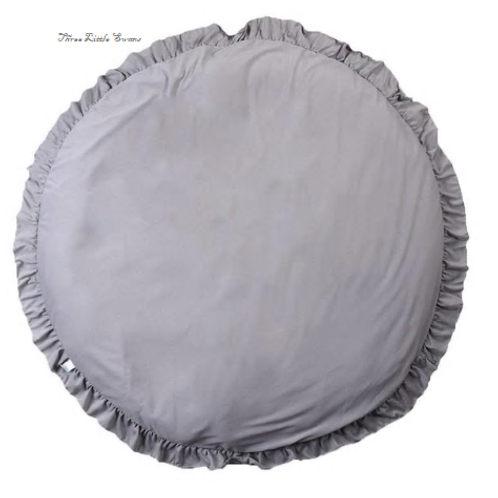 Round frill playmat (with personalised options)