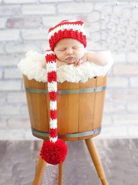 Crochet newborn hat