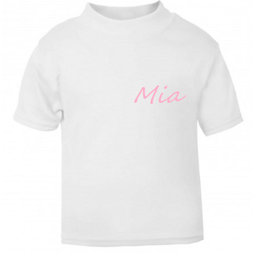 Simple Dainty Name T-shirt