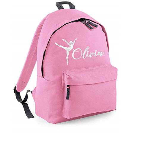 Create your own 'Dance/ Gymnastics' Junior Backpack (lots of design options)