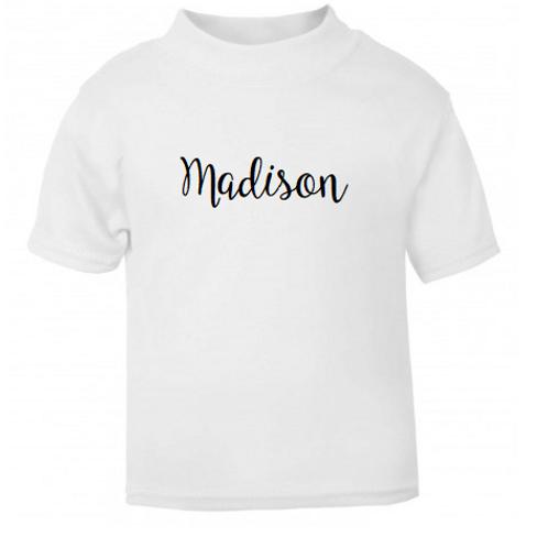 Personalised Name T-shirt