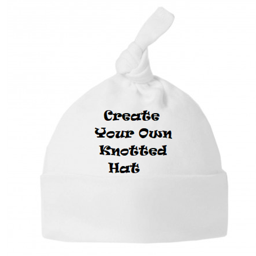 Create Your Own knotted hat