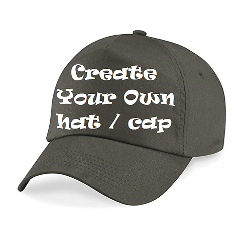 Create your own hat / cap