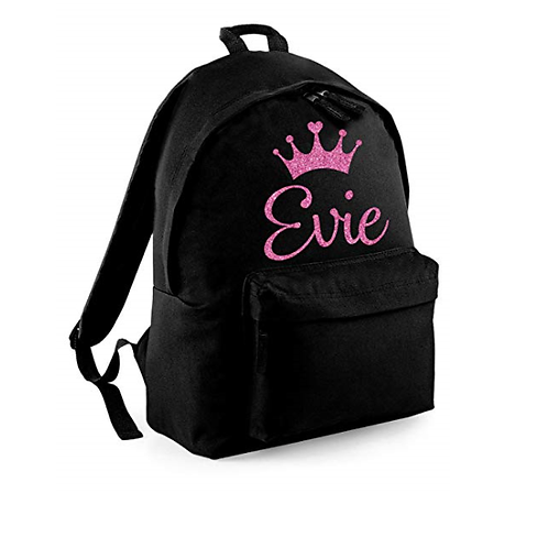 Create your own 'Crown' Junior Backpack (lots of crown options)