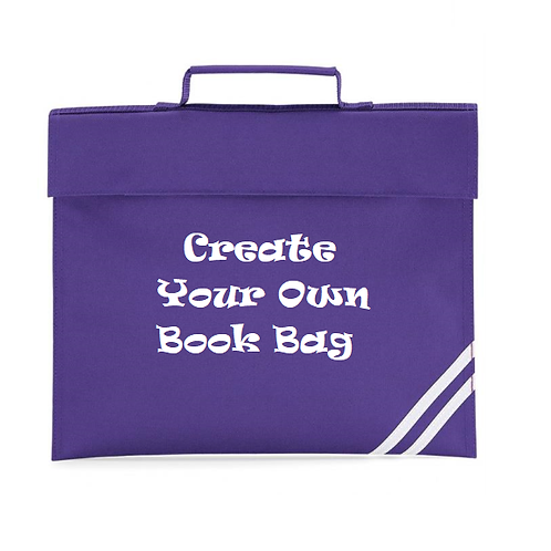Create your own Book bag (lots of design options)