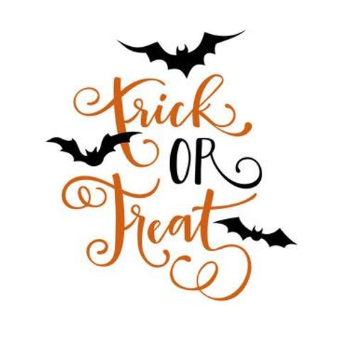 'Trick or Treat' Halloween desgin