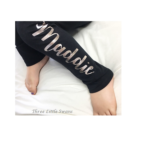 Personalised Childrens Leggings