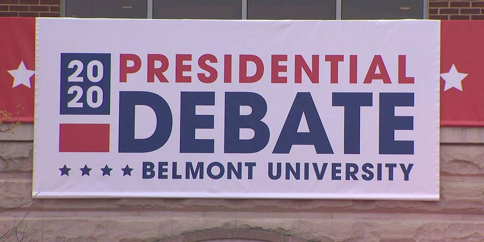 Presidential Debate Watch (on-line) October 22, 2020