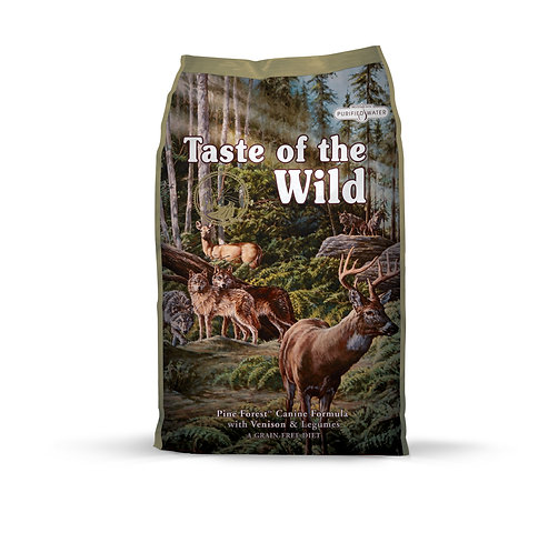 Taste of the Wild Pine Forest Canine Formula