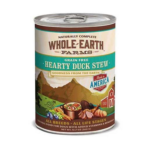 Whole Earth Farms Hearty Duck Stew Grain Free Recipe