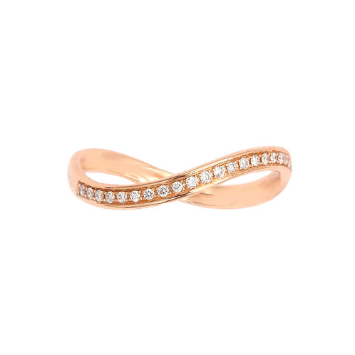 Infinity Band- Rose Gold