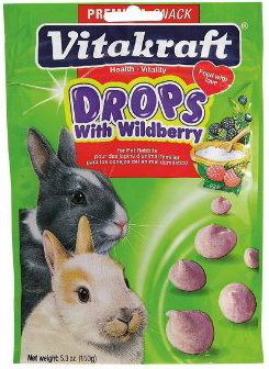 Vitakraft Yogurt Drops with Wildberry for Rabbits