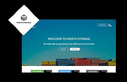 North Storage WIX Website