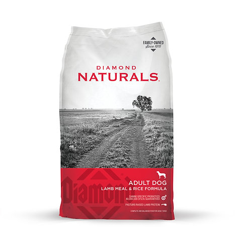 Diamond Naturals Lamb & Rice Formula