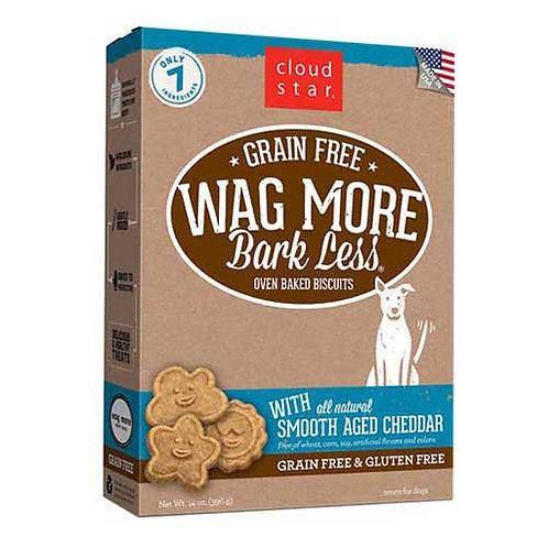 Wag More Bark Less Grain Free Cheddar