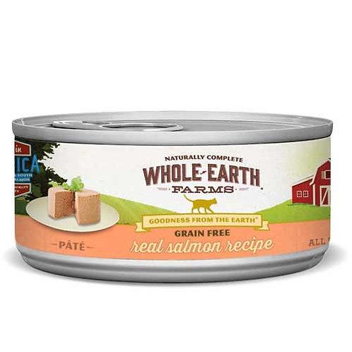Whole Earth Farms Grain Free Pate Salmon Recipe