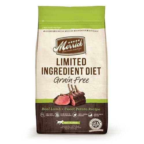 Merrick Grain Free Limited Ingredient Diet Lamb