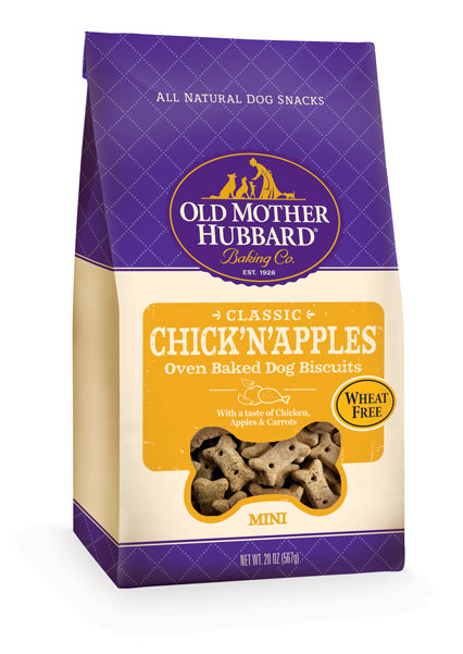 Old Mother Hubbard Chick'N'Apples Mini Biscuits