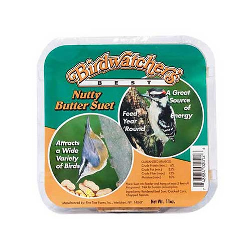 Birdwatcher's Nutty Butter Suet