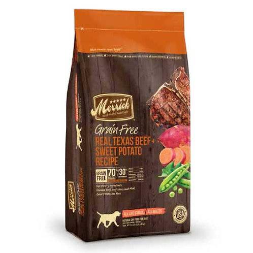 Merrick Grain Free Texas Beef & Sweet Potato Recipe