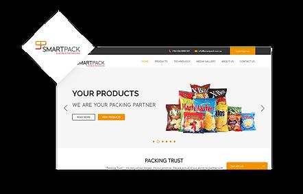 Smart Pack WIX Website