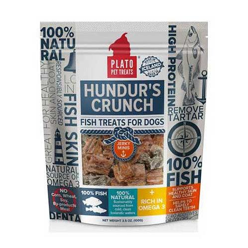 Plato Hundur's Crunch Fish Jerky Minis