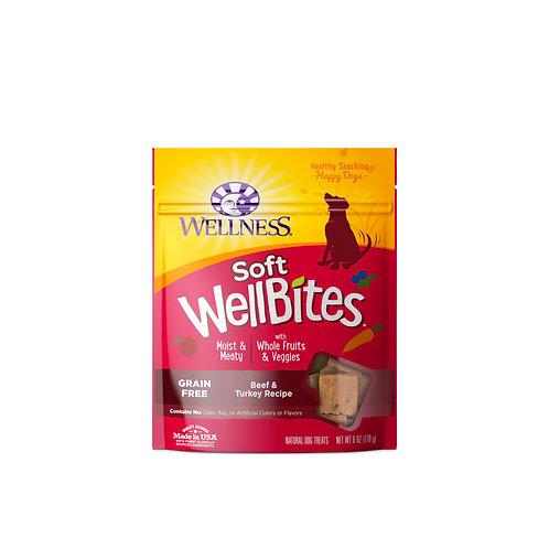 Wellness Soft Wellbites Beef & Turkey Recipe